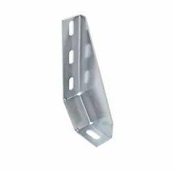Dexterous Mild Steel Aluminium Floor Bracket, Zinc Plated