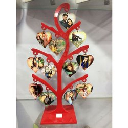 Acrylic Table Tree Photo Frame