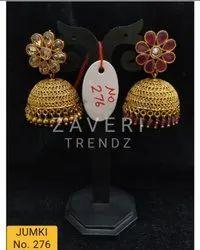 276 Gold Plated Fashion Jhumki