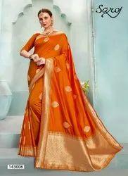 Festive Wear Designer Jacquard Saree