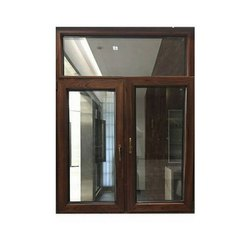 Powder Coated Casement Aluminium Window, For Residential, Size/Dimension: 4 X 3 Feet