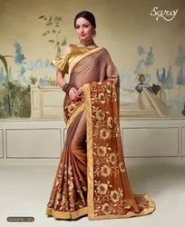 Fancy Designer Rangoli Silk Saree