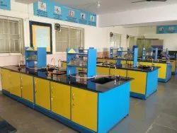 Science lab set up