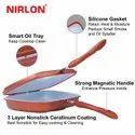 Nirlon Non-Stick Ceramic Magic Pan, Brown