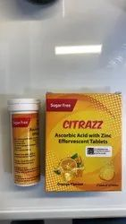 Vitamin C and Zinc Effervescent Tablets