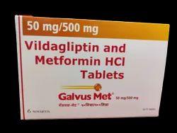 Vildagliptin And Metformin HCL Tablets