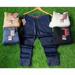 Grains Casual Wear Men Designer Cotton Trouser