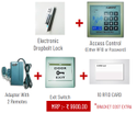 Electronic Dropbolt Lock Set