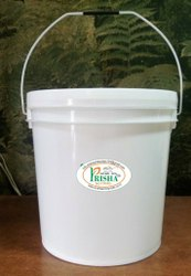 White 5 Ltr 20 liter Paint Plastic Buckets, Size: 6 Inches