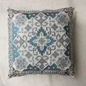 Embroidery cushion cover