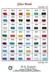 Tyre Shape Glass Beads
