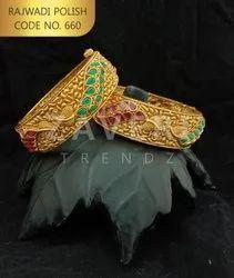 660 Rajwadi Polish Bangles