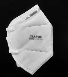 Disposable Classik N95 Premium face mask, Certification: Ce, Iso