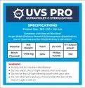 UVS Pro - Ultraviolet Sterilization