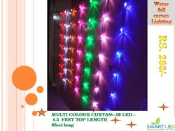 Diwali decoration light curtan