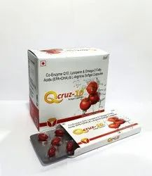Co-Enzyme Q10, Lycopene, Omega-3 Fatty Acid & L-Arginine Softgel Capsules