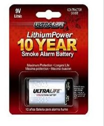 UltraLife 9 Volt Lithium battery