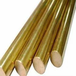 Brass Round Extrusion Rods, For Hardware Fitting