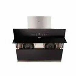 Mesh Aluminum Sleek Kitchen Chimney