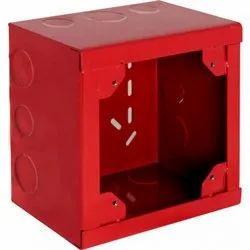 Fire smoke detector junction box