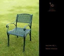 Visor Victorian Cast Aluminium Chair