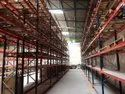 Pallet Racks With Decking Panel