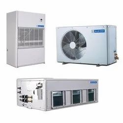 Copper 5.5 To 16.5 Tr Blue Star Packaged Air Conditioner, For Industrial Use