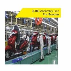 I06 Assembly Line For Scooter