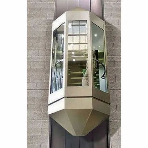 Mall Glass Elevator