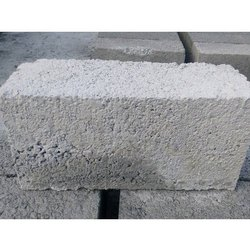 Rectangular Solid 6 Inch Concrete Blocks, For Side Walls