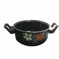 Blackstar Iron Kitchen Handi, Size: 20 Cm
