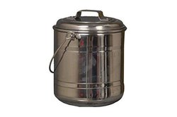 Silver Nutristar Stainless Steel Can, For Home