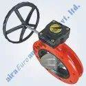 Manual Double Flange Butterfly Valve
