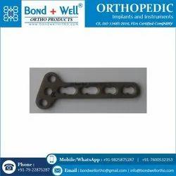 Orthopedic Implants T Oblique Locking Plate