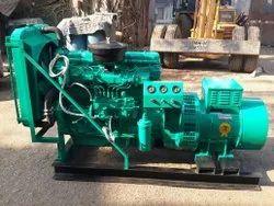 Three Phase 40 KVA Used Tata Cummins Soundproof Diesel Generator Set