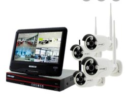 Hikvision CCTV Camera With LCD