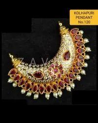 120 Kolhapuri Fashion Pendant