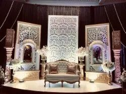 rajasthani wedding stage