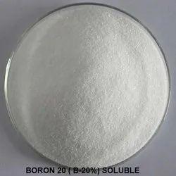 Boron 20 ( B-20%) Soluble