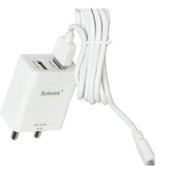 White Electric Robotek Mobile Charger