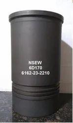 Cylinder Liner For Komatsu 6D170  S6D170  SA6D170  Part No. 6162-23-2210