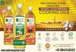 100% Natural Cold Pressed Cooking Oil