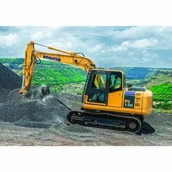 L&T Komatsu Pc130 Hydraulic Excavator