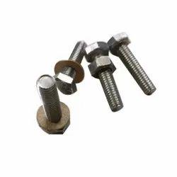 Hexagonal Stainless Steel Hex Bolt Nut, Material Grade: SS304, Size: 3 Inch (bolt)