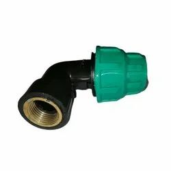20mm (1/2) COMPRESSION ELBOW FEMALE BRASS THREADED - HOUSE SERVICE CONNECTION
