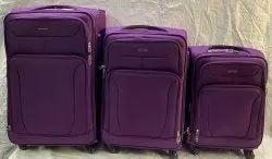 4 Wheeler Luggage Trolley Bag