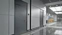 Gray Hinged General Commercial Door, For Hospitals, Hotels Etc
