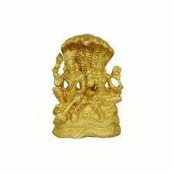 Vishnu Laxmi Brass Statue