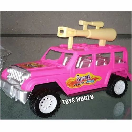 Pink 603b Plastic Toy Car, No. Of Wheel: 4