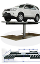 Wheel Stand Car Washing Lift